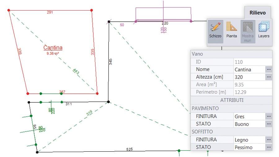 Inserimento e definizione dei vani - ACCA software