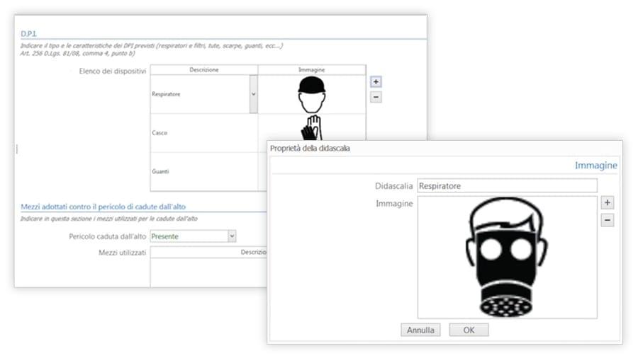 Personalizzazione Piano Lavoro Amianto