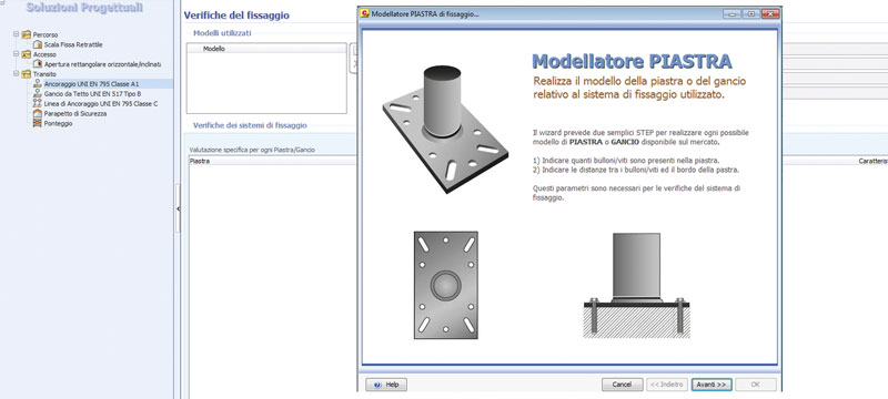Modellazione dinamica e verifica dei sistemi di ancoraggio