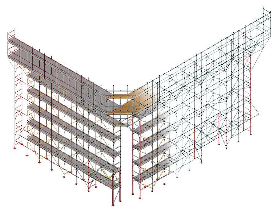 Calcolo strutturale ponteggi