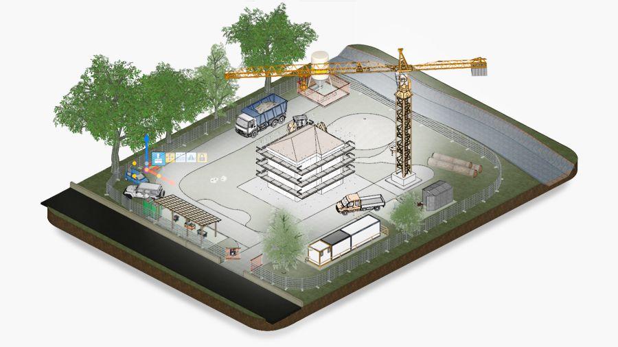 Modellazione BIM della sicurezza del cantiere