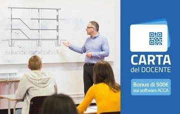 Carta del docente: spendi qui il tuo bonus di 500 euro