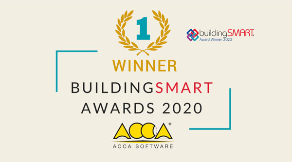 buildingSMART International Awards 2020 | ACCA software
