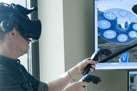 Laboratori Multimediali- Progetto ACCA per la realtà virtuale immersiva