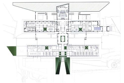 Nuova sede ACCA - Pianta
