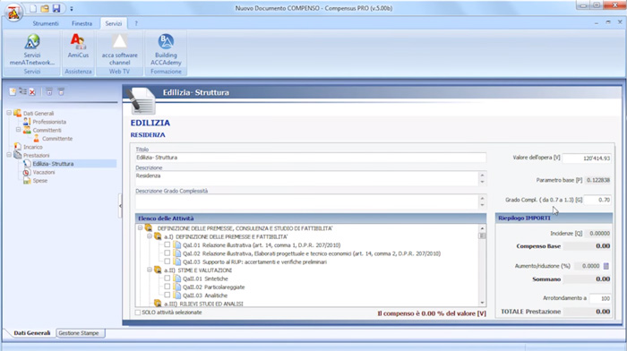 Software Calcolo Parcelle - Compensus PRO - ACCA software