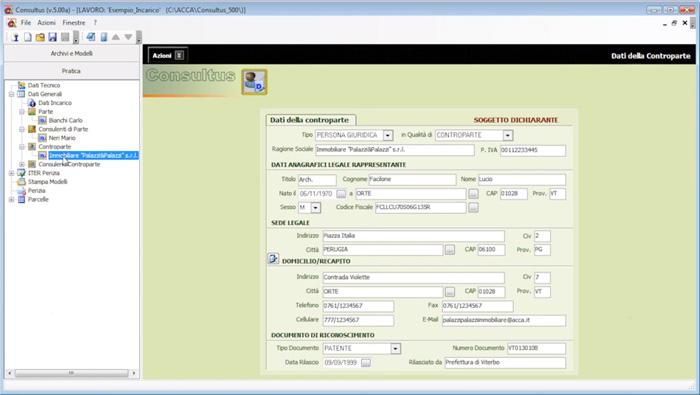 Software Gestione CTU e Calcolo Parcelle - Consultus - ACCA software