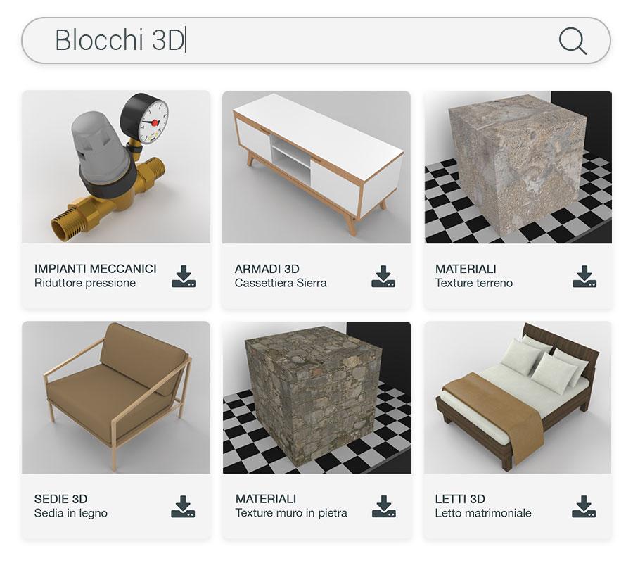 Libreria on-line di oggetti BIM