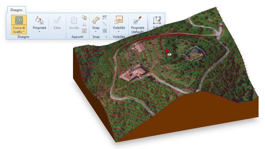 Modellazione Terreno 3D - Edificius
