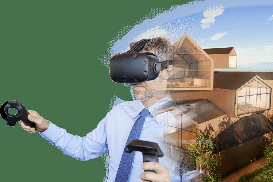 modelli BIM in realtà virtuale immersiva