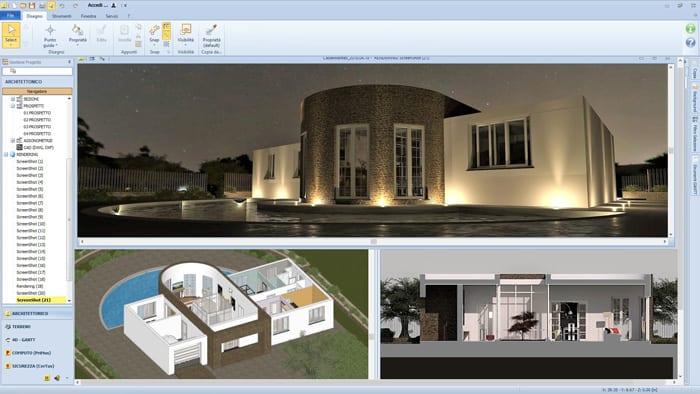 Progettazione edilizia 3D/BIM