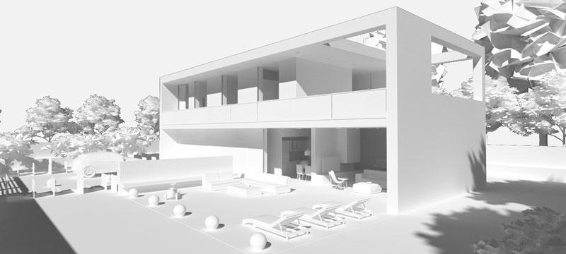 Clay Render - Edificius+AIrBIM - ACCA software