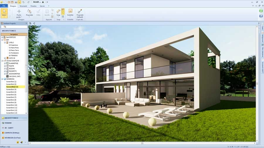 Real-Time rendering - Edificius + AIrBIM - ACCA Software