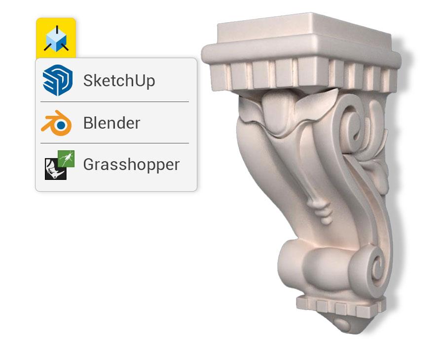 Importazione file/oggetti programmi architettura 3D | Edificius | ACCA software