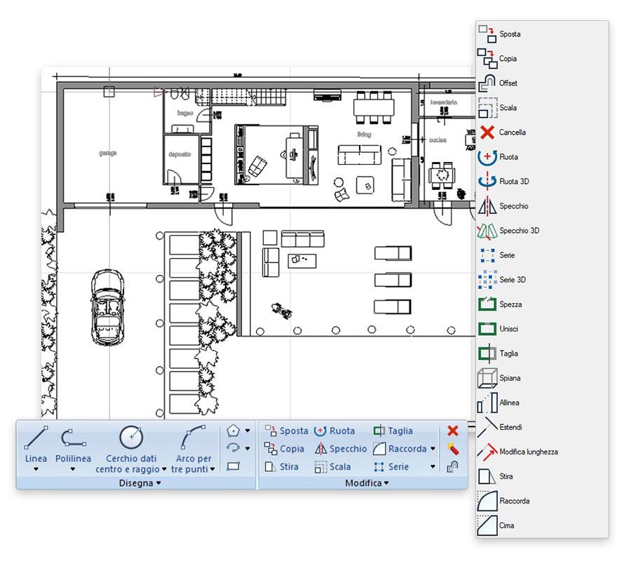 Integrazione BIM: CAD DWG - Edificius