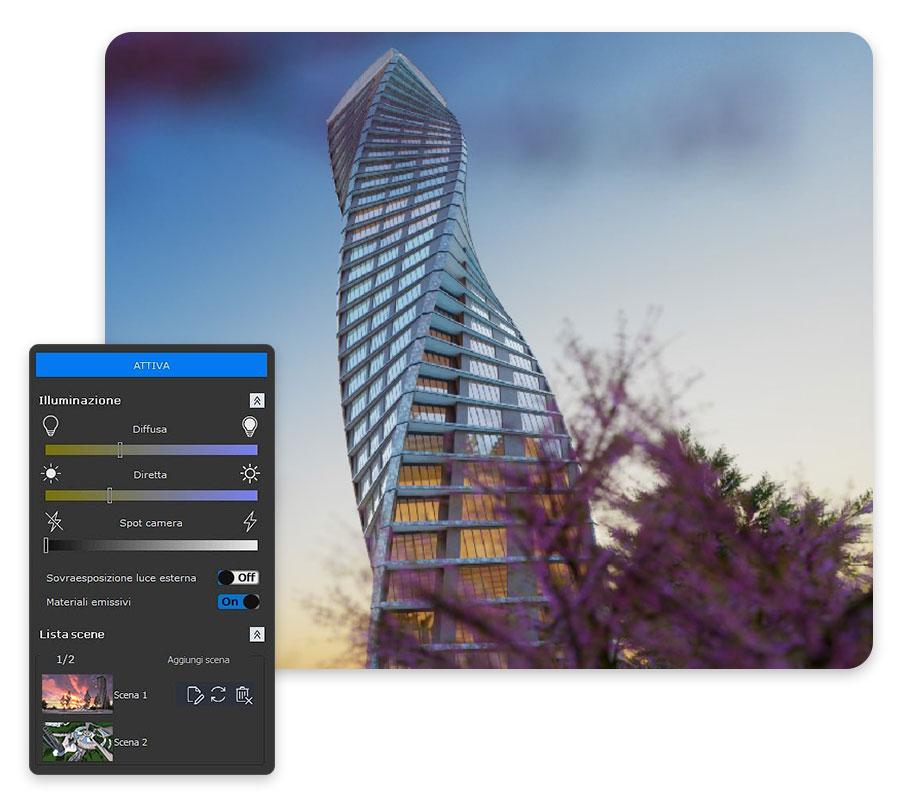 Rendering Fotorealistico | Edificius | ACCA software