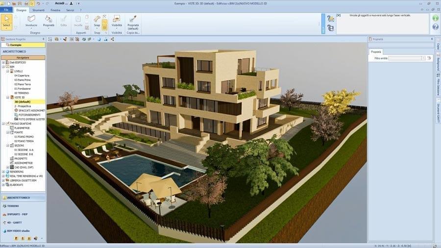 Software Progettazione Architettonica 3D Gratis | Edificius | ACCA software