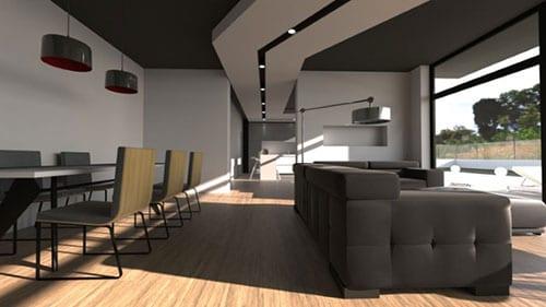 Esempio interior design casa unifamiliare | Edificius | ACCA Software