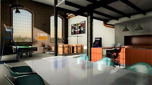 Esempio interior design loft | Edificius | ACCA Software