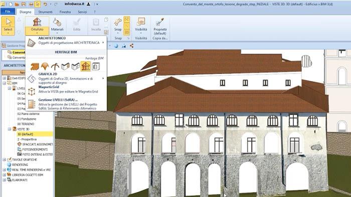 HBIM | Edificius | ACCA software