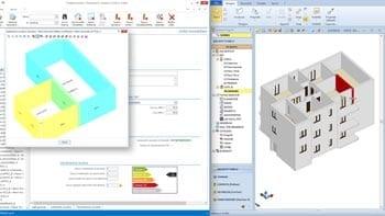 Integrazione progettazione architettonica-analisi isolamento acustico