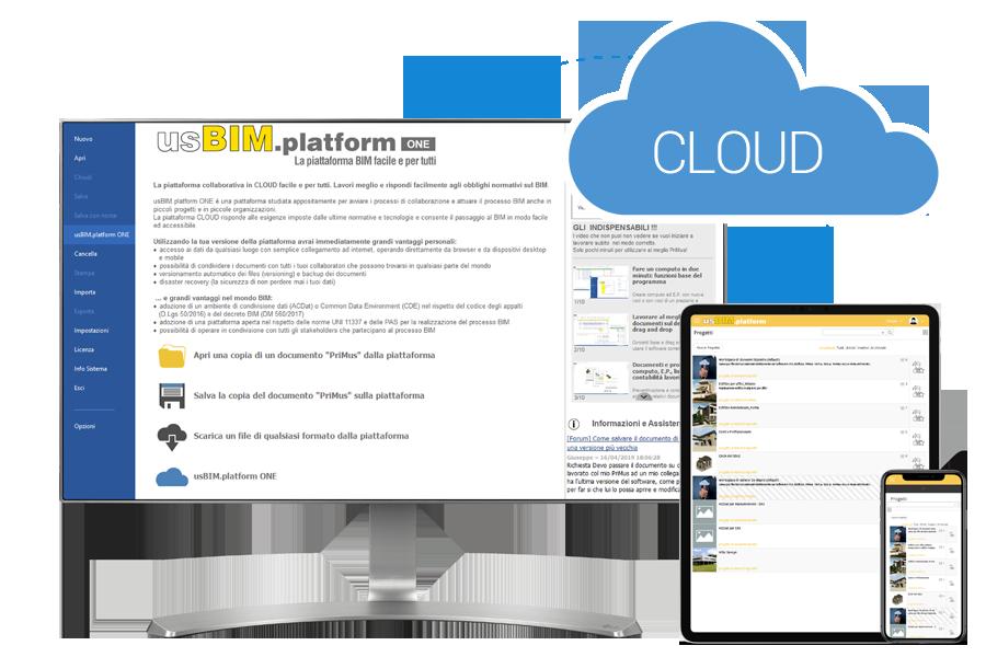piattaforma collaborativa in cloud usBIM.platform ONE