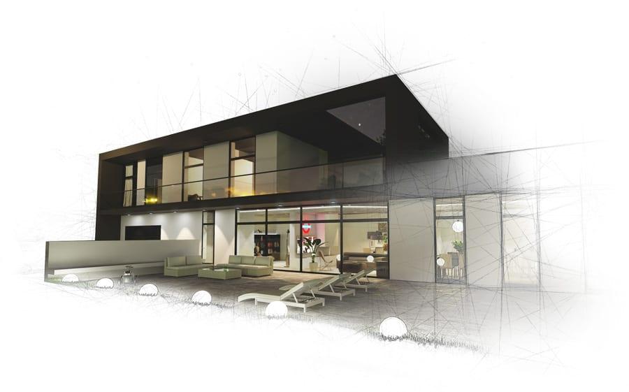 Rendering architettonico - Edificius