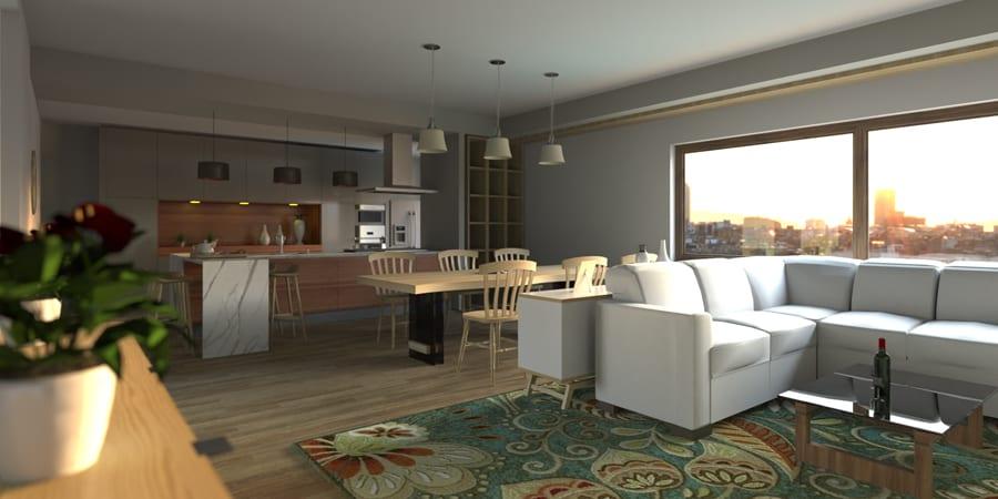 Render progettazione interni 8   Edificius   ACCA software