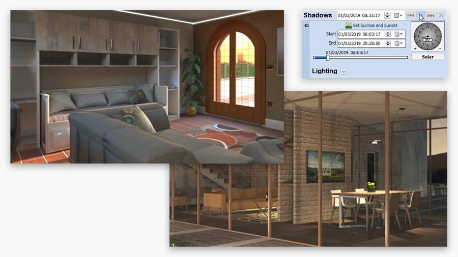 Verifica illuminazione ambienti | Edificius | ACCA Software