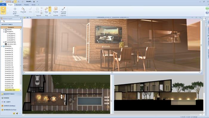 Video software per progettare interni | Edificius | ACCA software