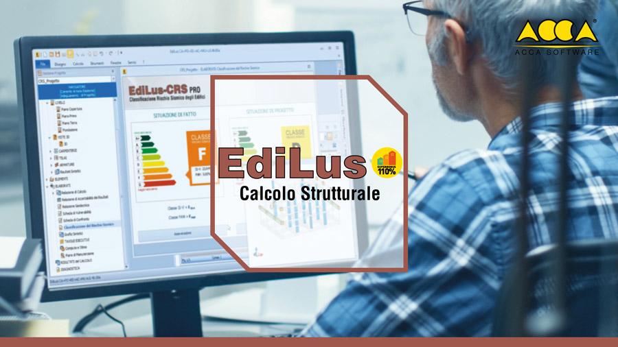 Software Calcolo Strutturale Cemento Armato - EdiLus-CA