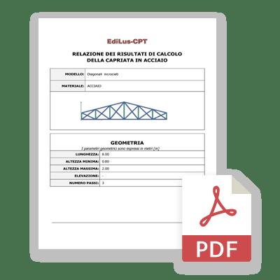 Relazione Calcolo Capriate - EdiLus-CPT - ACCA Software