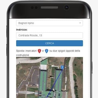Pericolosità sismica da Google Maps