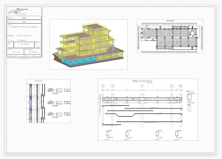 elaborati ed esecutivi calcolo strutturale