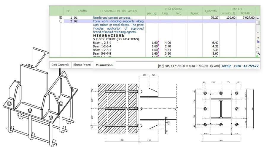 elaborati di calcolo strutturale automatici