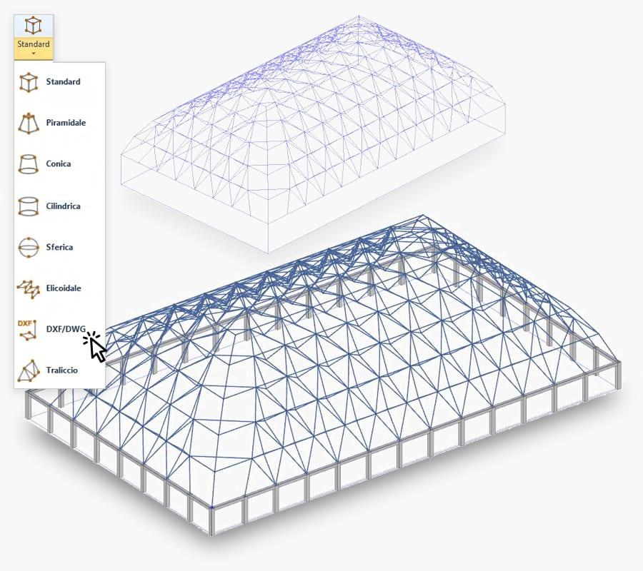 modellazione semplificata con magnetic grid