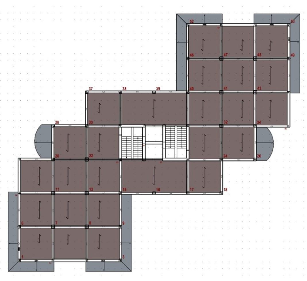 Pianta - Progettazione strutturale