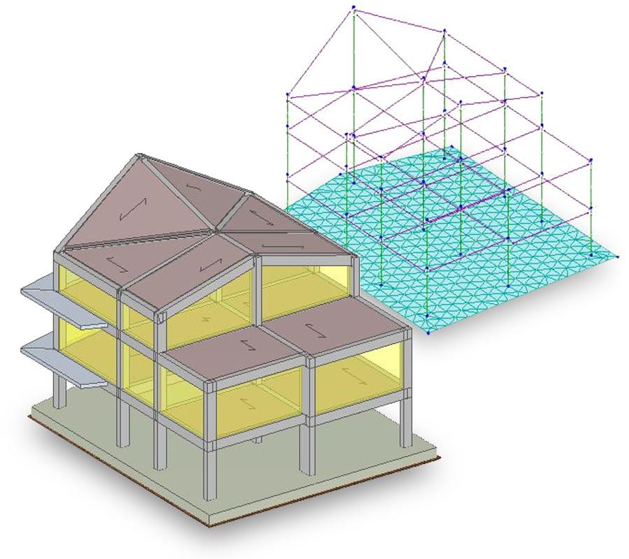 solutore FEM calcolo strutturale in cemento armato