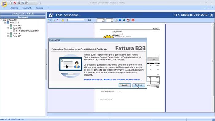 Software Fatturazione Elettronica - FacTus - ACCA software