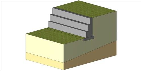 Progettazione integrata di muri a mensola e a gravità