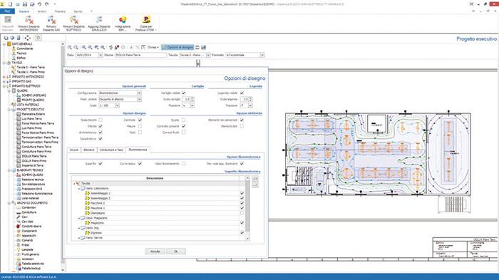 Software Progettazione Impianti Elettrici - Impiantus-ELETTRICO - ACCA software