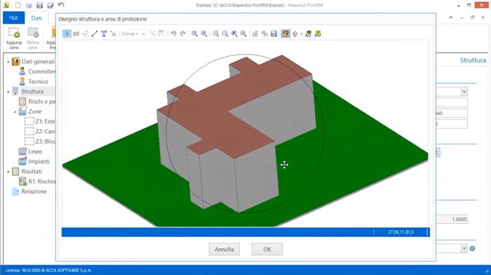 Software Verifica Scariche Atmosferiche - Impiantus-FULMINI - ACCA software