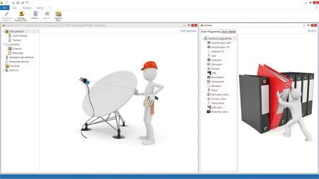 Progettazione dell'impianto antenna TV satellitare e digitale terrestre | Impiantus-ANTENNA TV | ACCA Software