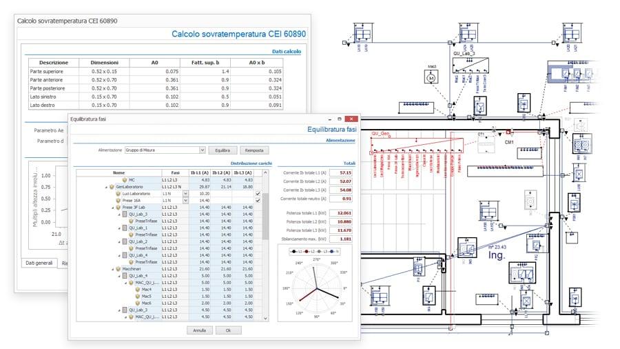 Dimensionamento impianto elettrico