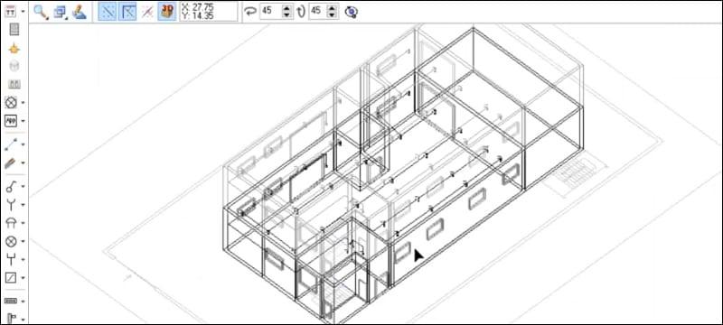 Dimensionamento e verifica di edifici multipiano