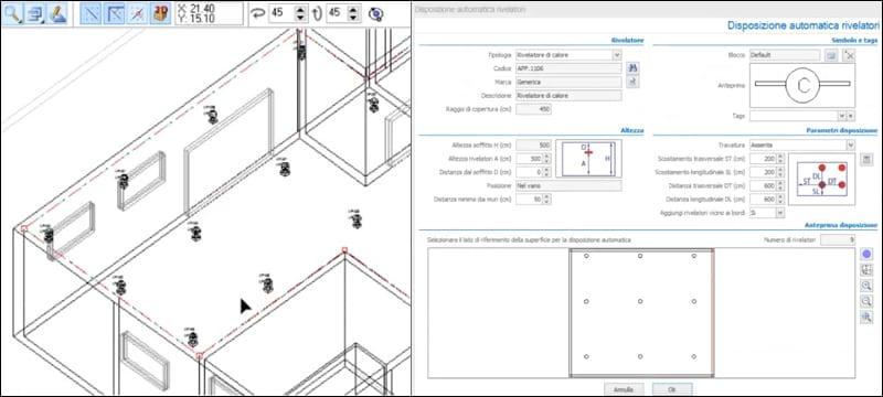 Progettazione con input ad oggetti parametrici