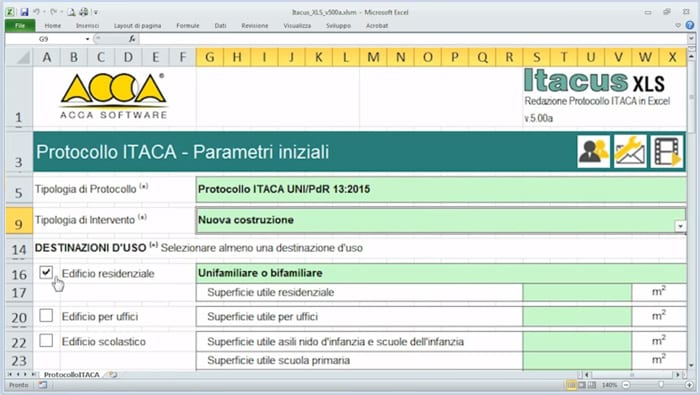 Software Free Protocollo Itaca - Itacus XLS - ACCA software