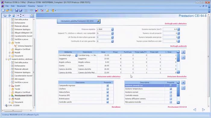 Software Dichiarazione Conformità Impianti - Praticus-37/08 - ACCA software