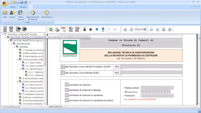 Software titoli abilitativi edilizia - Praticus-TA - ACCA software