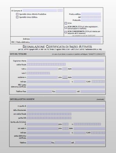 SCIA - Modello PDF editabile
